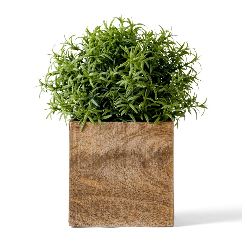 Wood Flowerpot