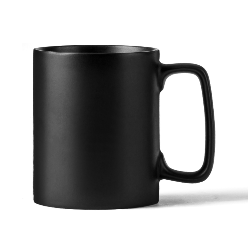 Black Mug Mockup