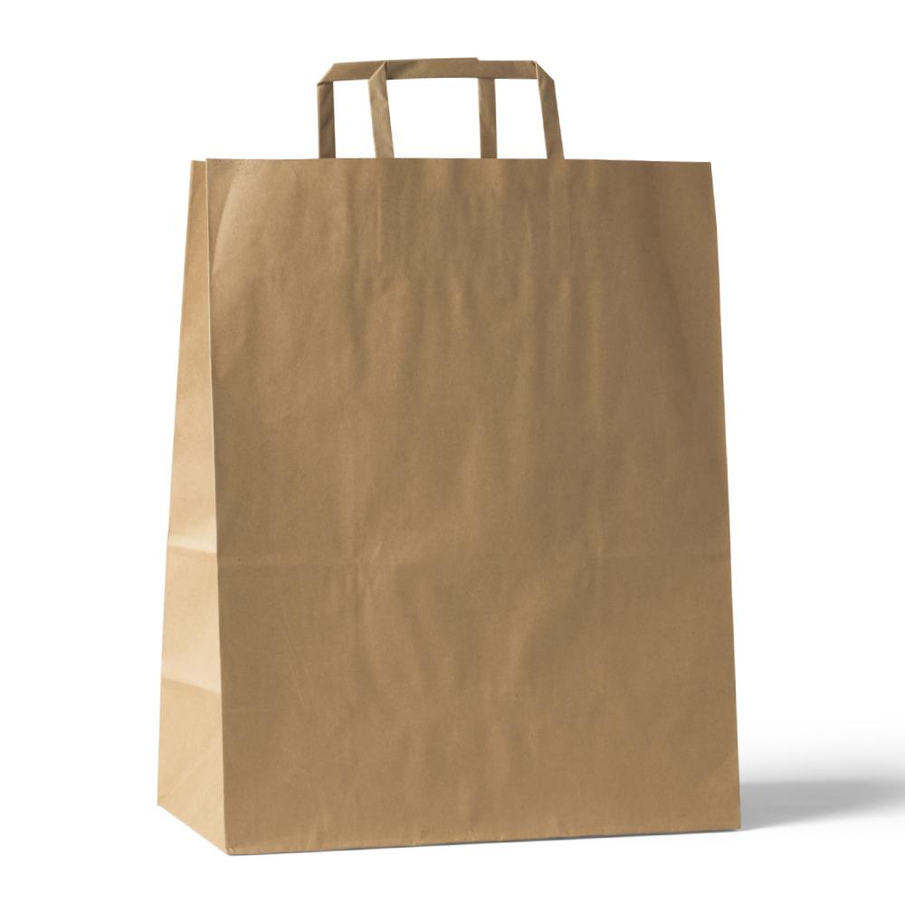 Kraft Paper Sopping Bag Mockup