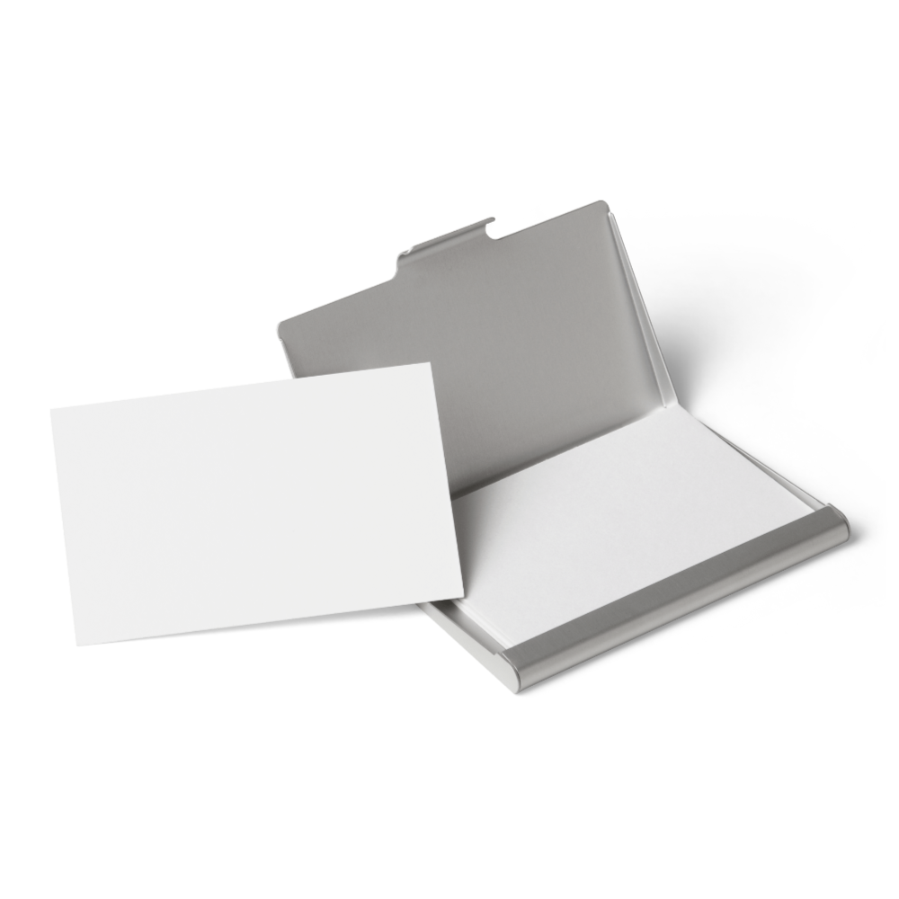 Business Cards and Box Mockup