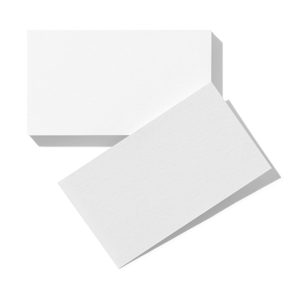 Business Cards (88.9x50.9 mm) Mockup