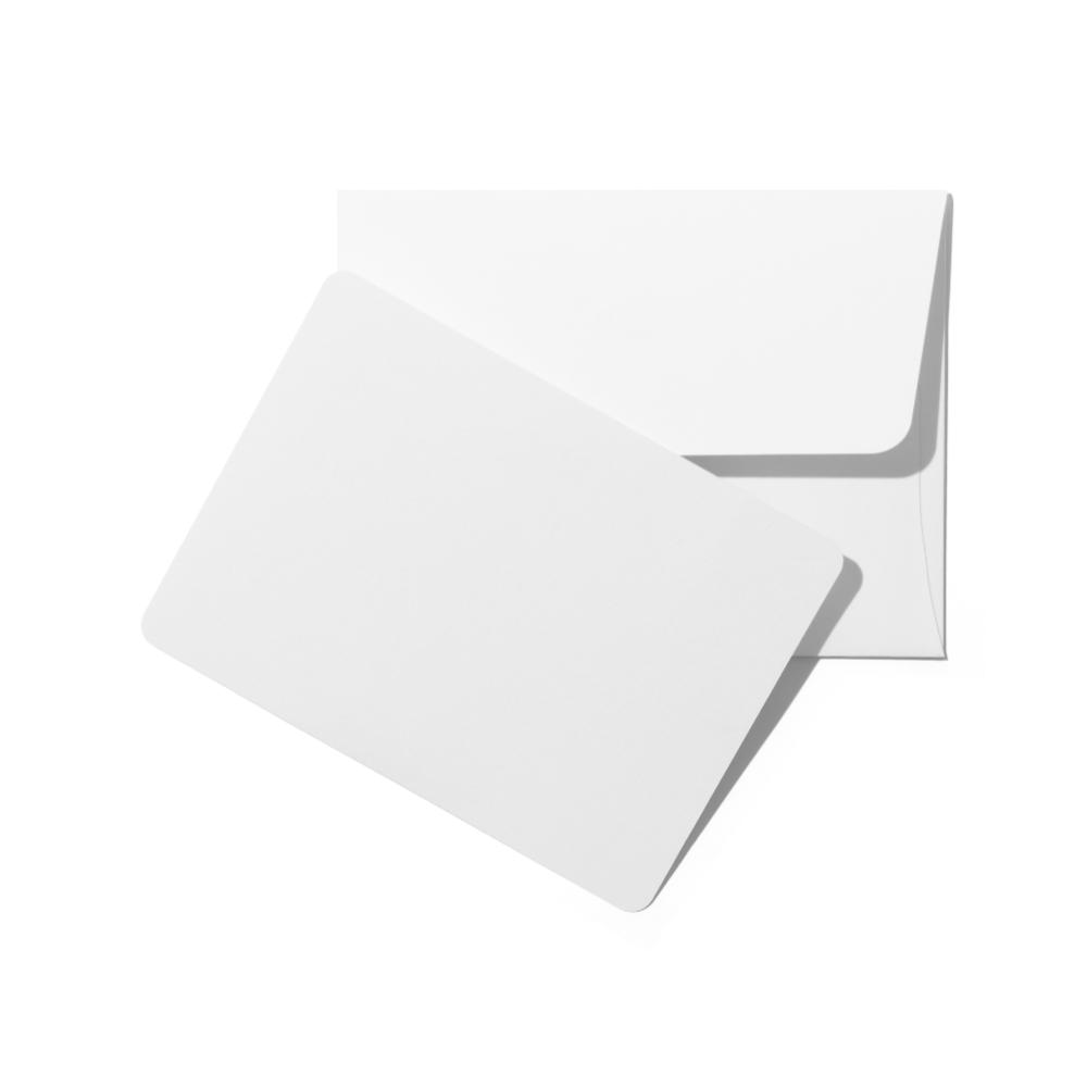 Envelope With Card Mockup