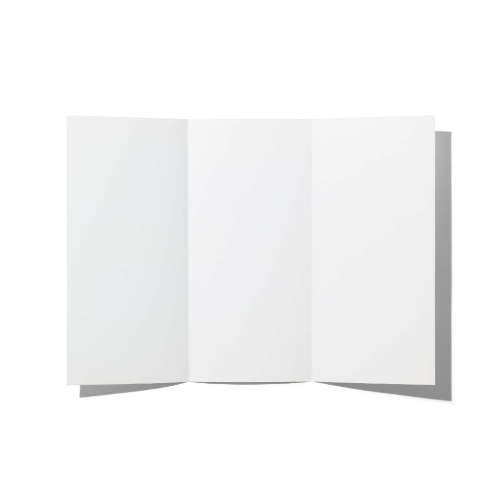 Folded Brochure Mockup