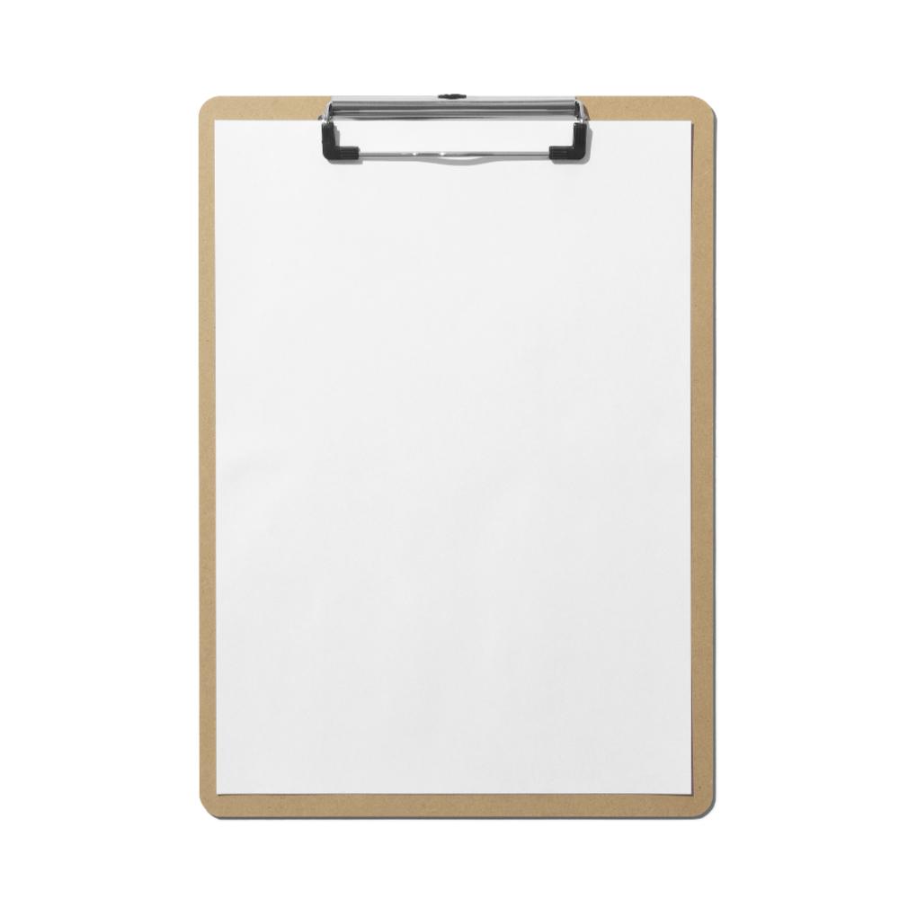 Clipboard A4 Mockup
