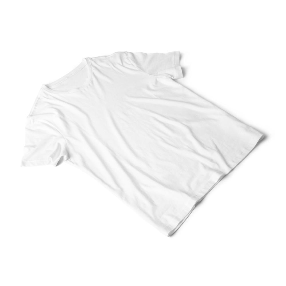 Wrinkled T-shirt Mockup