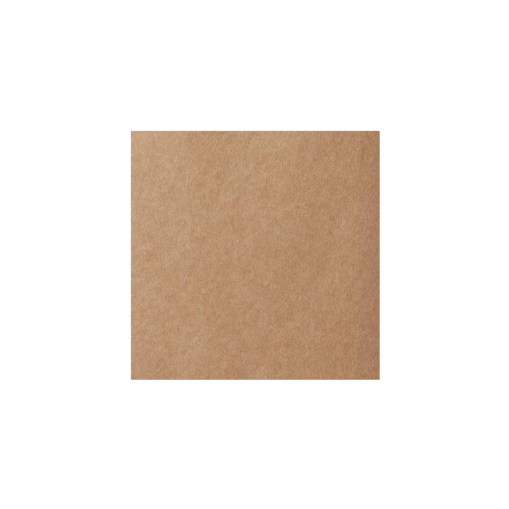 Square Notecard (146x146 mm) Kraft