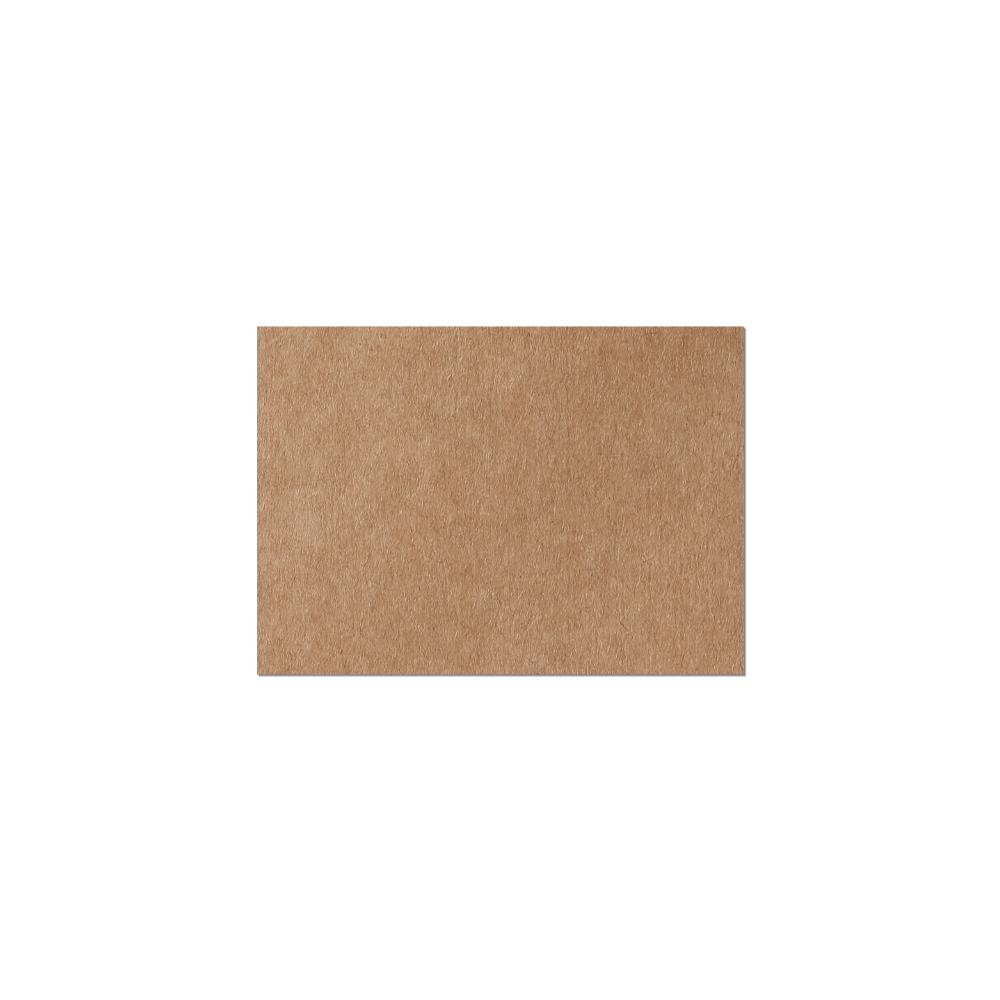 Notecard #17 (65x91 mm) Kraft