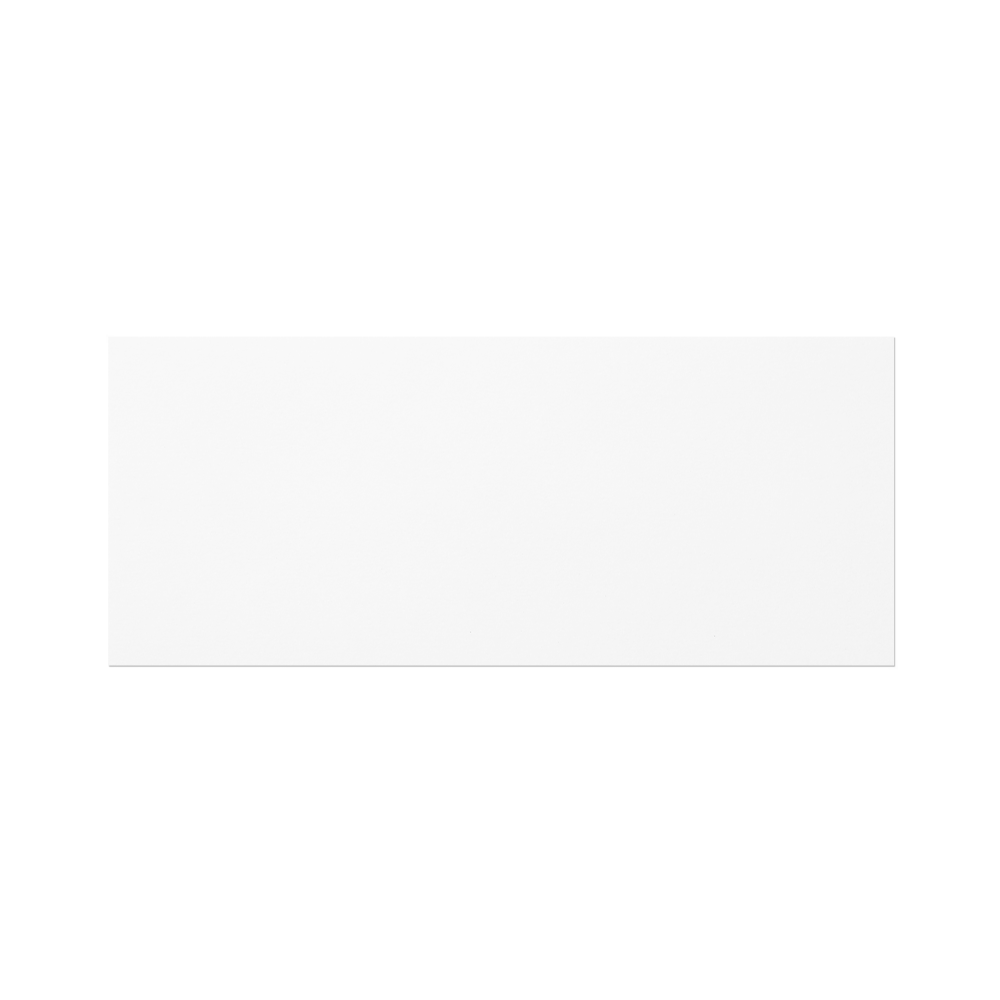 Notecard #10 (235x98 mm) White