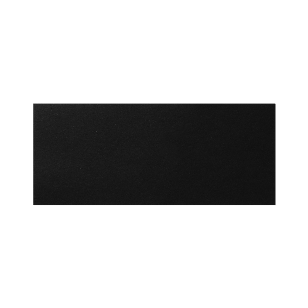 Notecard #10 (235x98 mm) Black