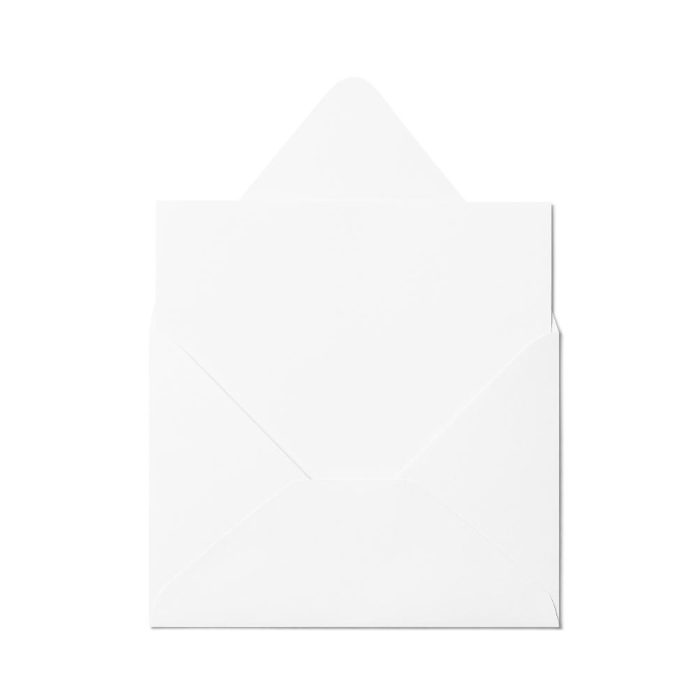 Counter Flap A7 Envelope (133x184mm) White