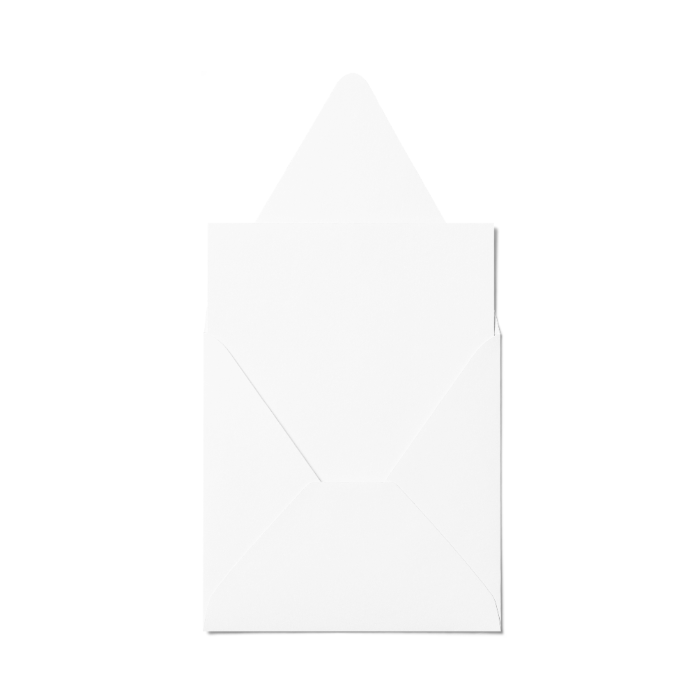 Counter Flap Square Envelope (127x127mm) White