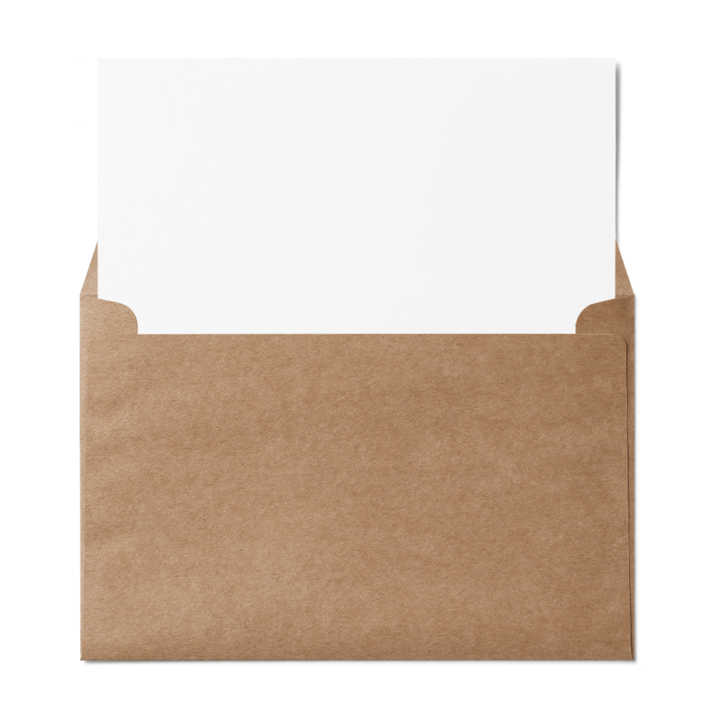 "Booklet 6x9"" Envelope (152x229mm) Kraft"