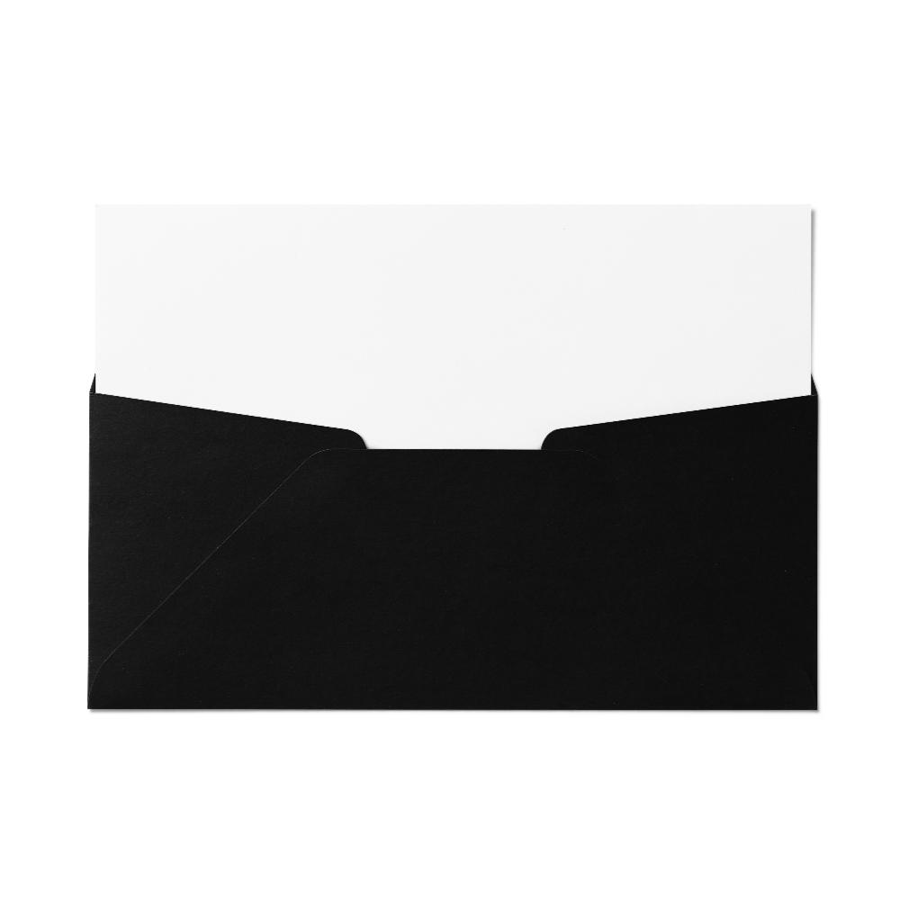 Regular #10 Envelope (105x241mm) Black
