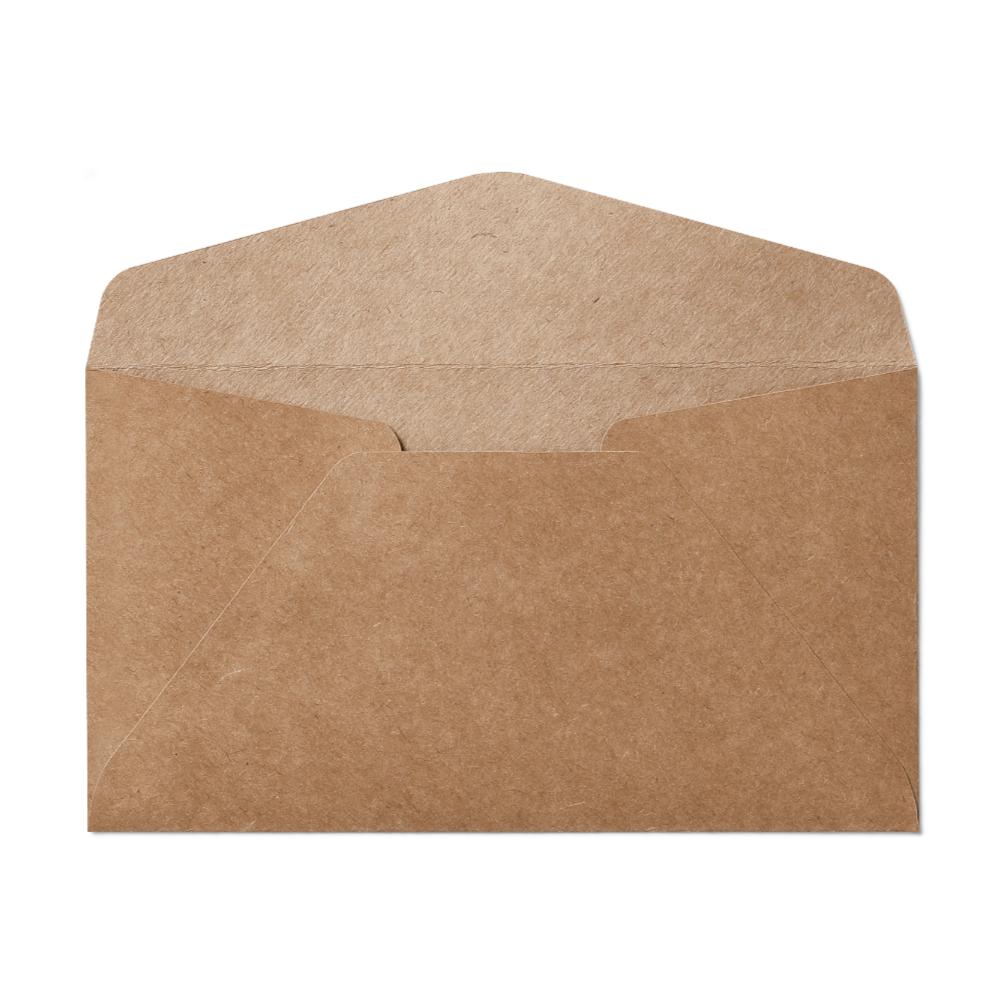 Regular #6 Envelope (92x165mm) Kraft