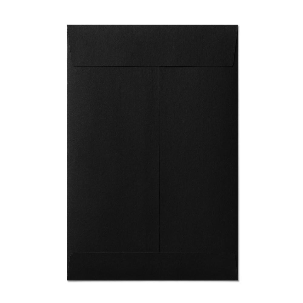 "Open End 6x9"" Envelope (152x229mm) Black"