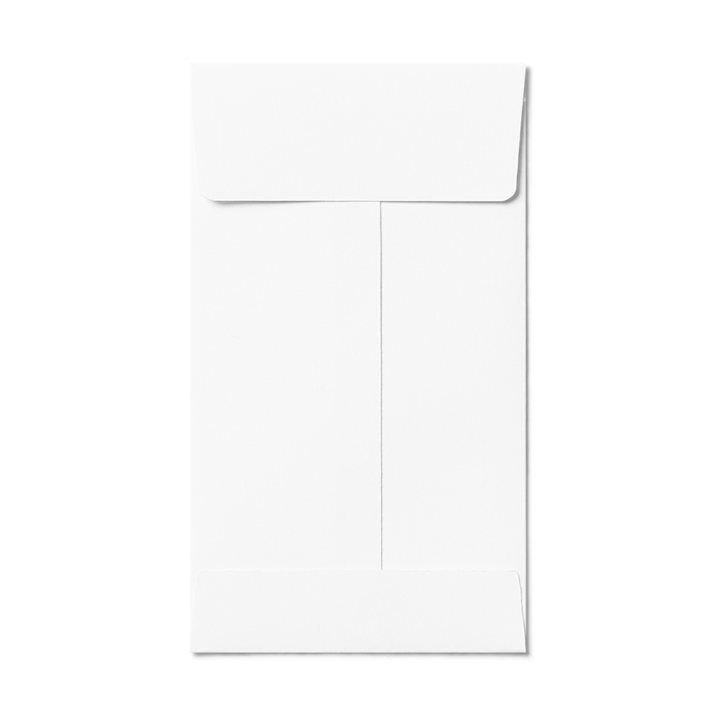 Open End #5 1/2 Coin Envelope (80x140mm) White