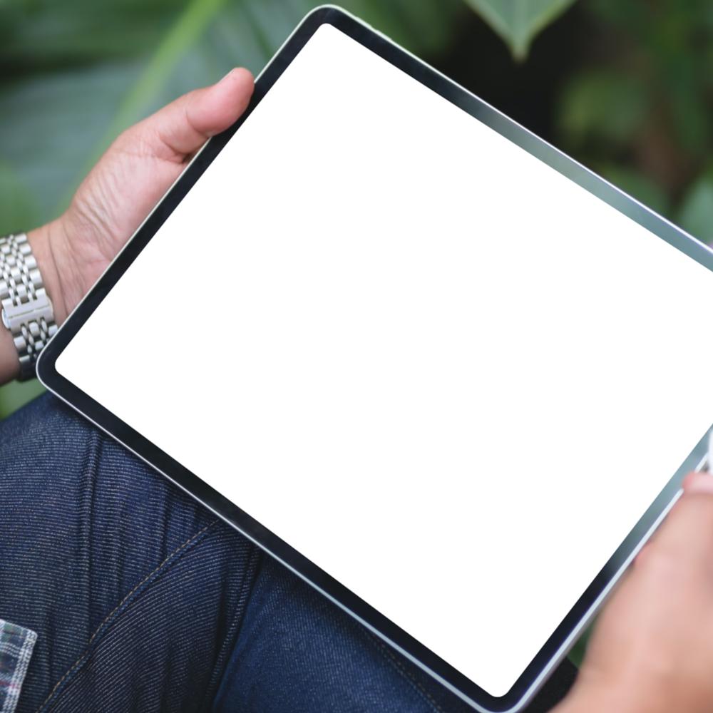 iPad Pro Screen Mockup
