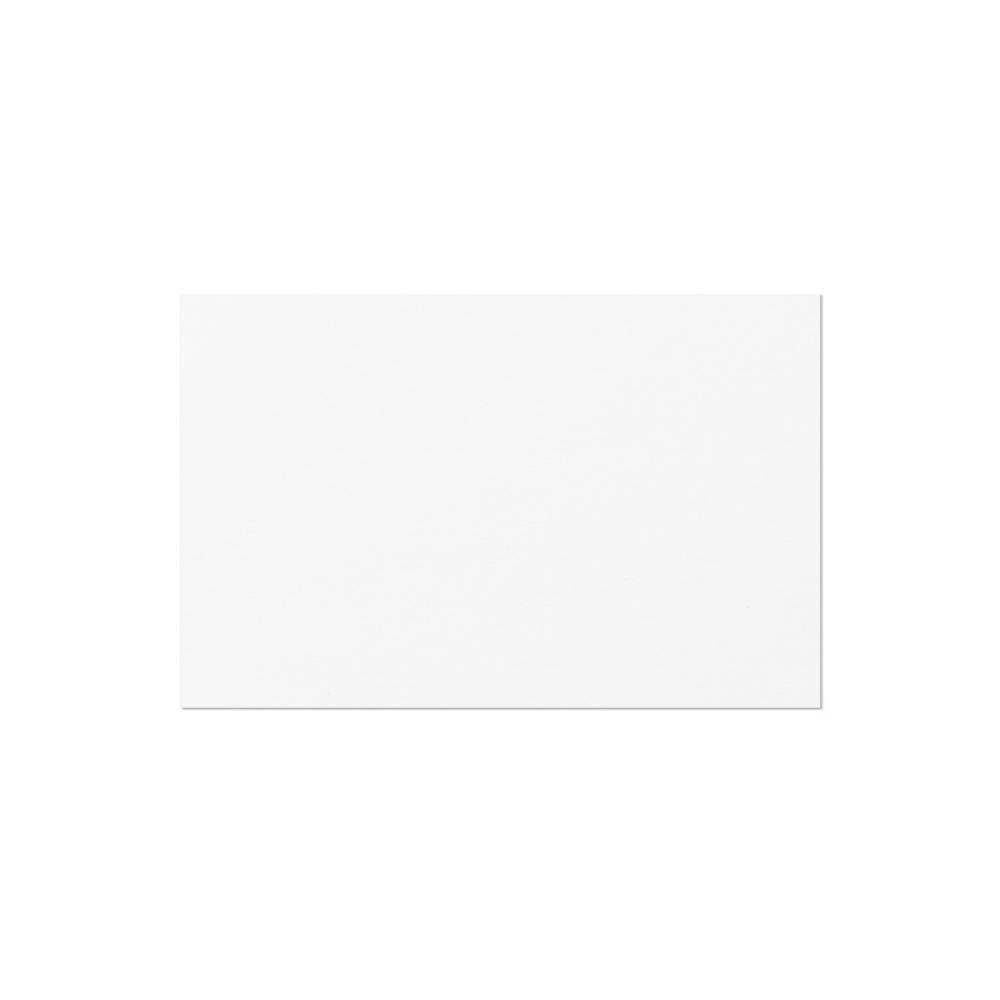 Business Card European (85x55mm) White