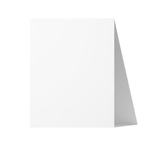 Letter (216x279 mm) White Paper