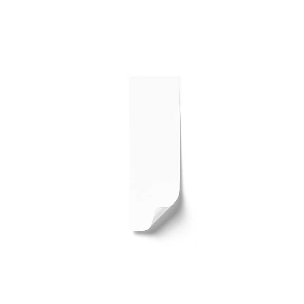 Rectangle Sticker (1x3)