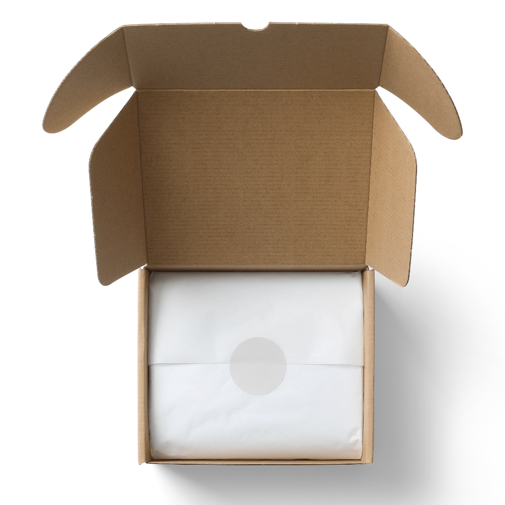 Tissue Package Mailer Box Mockup