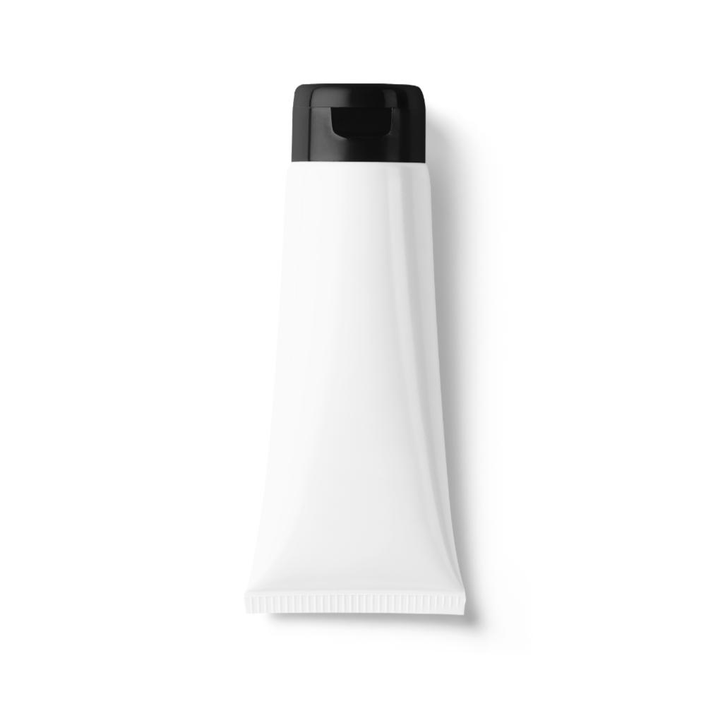 White Hand Cream Tube Mockup