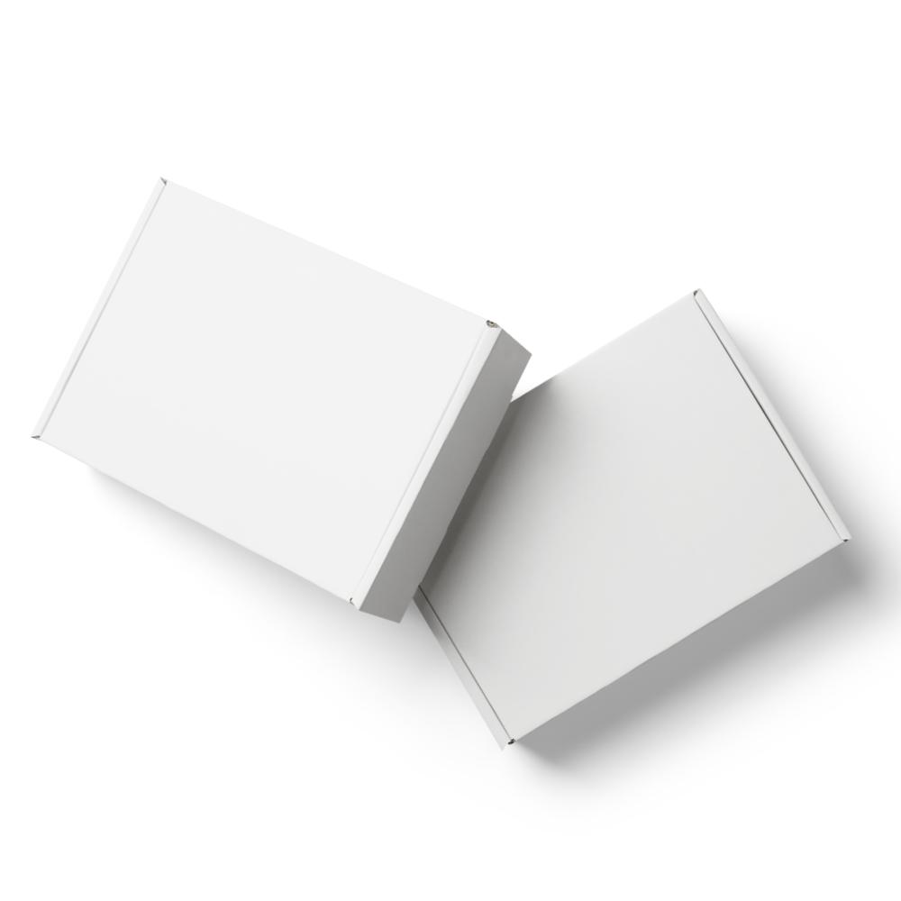 White Mailer Boxes Mockup