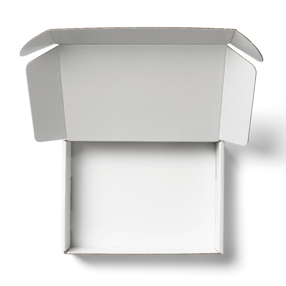 White Mailer Box Mockup