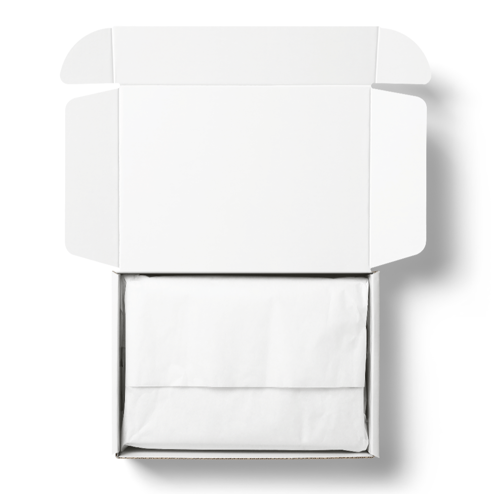 Mailer Box and Tissue Paper