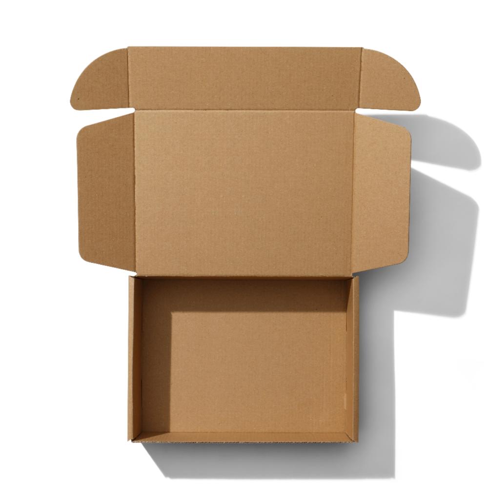 Kraft Mailer Box Mockup