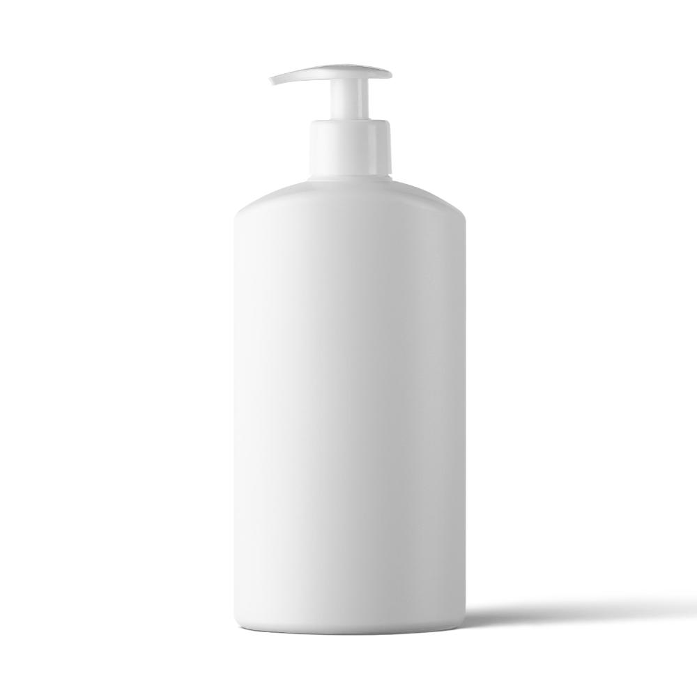 Plastic Pump Bottle Mockup