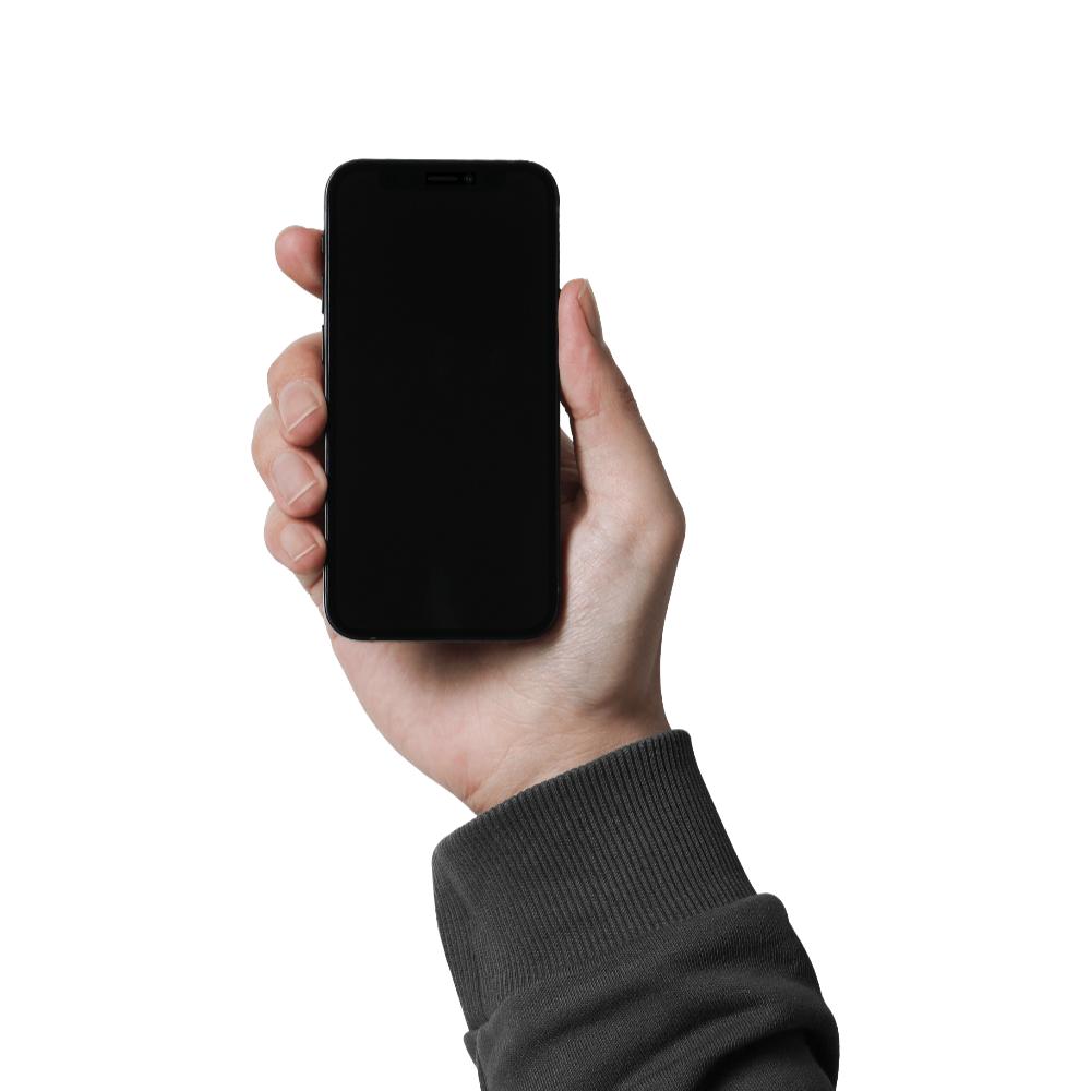 Free Hand Holding iPhone 12 Mini