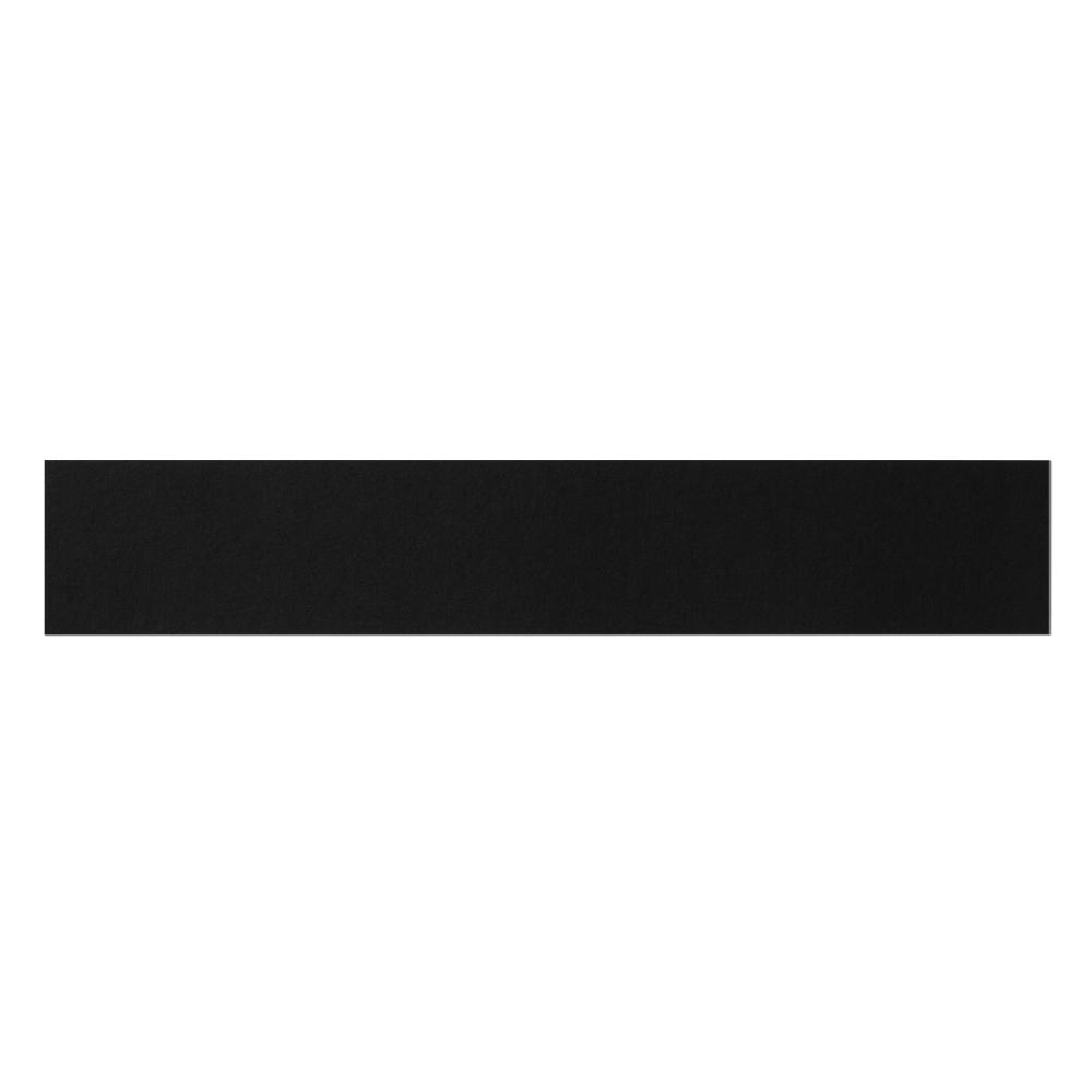 Black Long Paper Mockup