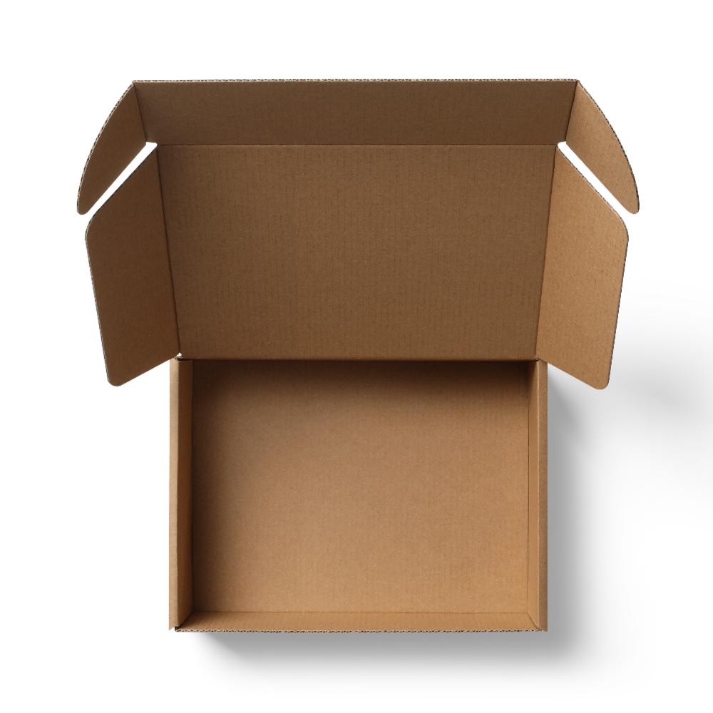 Cardboard Mailer Box Mockup