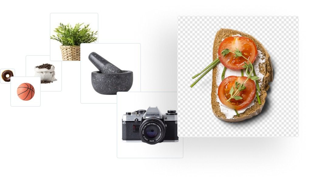 Thousands of cleaned mockup items for better compositions