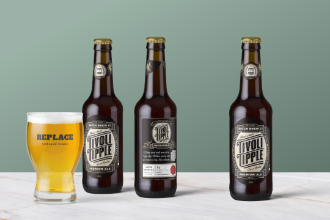 Beer Packaging Mockup Scene