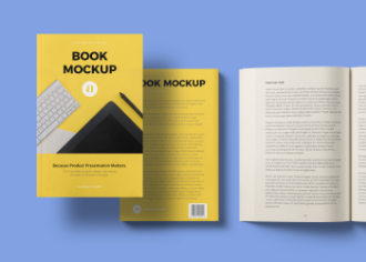 Book Mockup Scene (B Format)