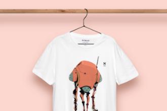 Nomad T-Shirt Presentation Concept