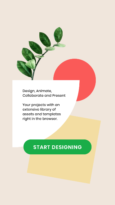 Animated Instagram Story Template