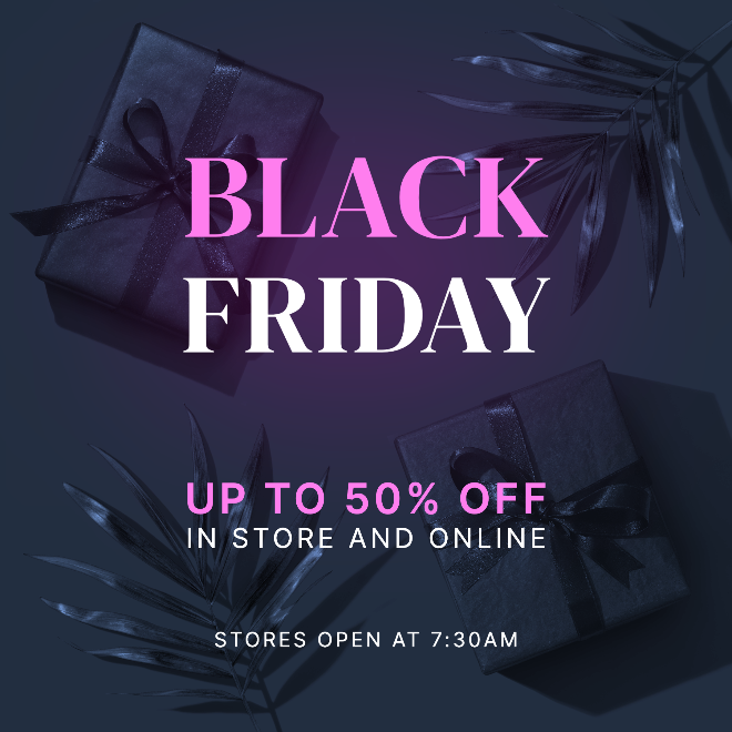 Black Friday Sale Instagram Post & Story Templates