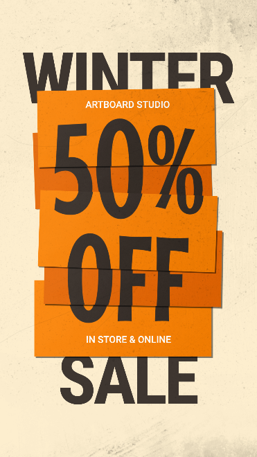 Sale Promotion Instagram Story Template