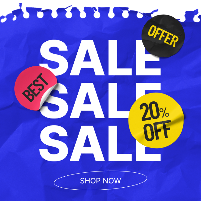 Animated Online Sale Instagram Post Template