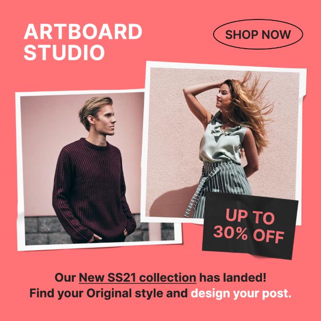 Sale Promotion Fashion Instagram Post Template