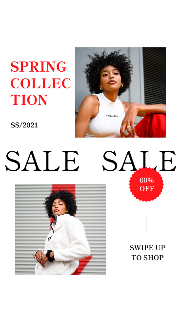 Animated Fashion Sale Instagram Story Template