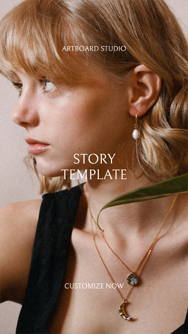 Animated Jewelry Offer Simple Instagram Story Template
