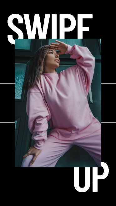 New Collection - Black Animated Instagram Story Template