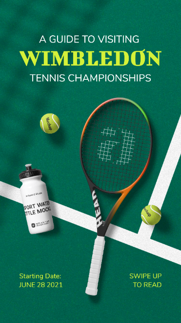 Tennis Championships Instagram Story Template