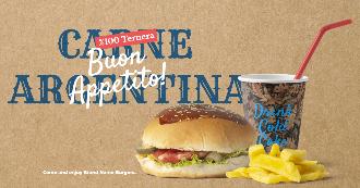 Burger Ads Banner Design