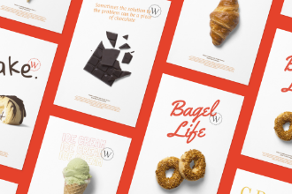 Bakery Related Posters Design