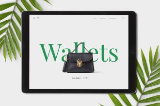 Apparel Website Design